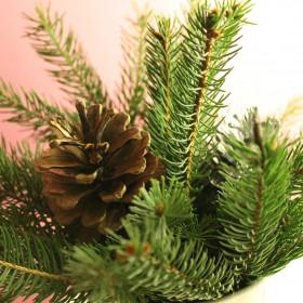 Pierwsze świąteczne ozdoby