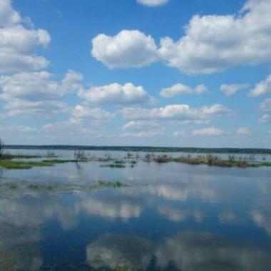 Rowerowa rundka wokoło jeziora Turawskiego z mężem :)*Czasami uda mi się go namówić na moje rowerowe zachcianki &#x3B;)))