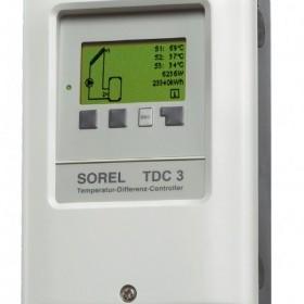 Sterownik temperatury TDC 3 do instalacji solarnych - nowość!
