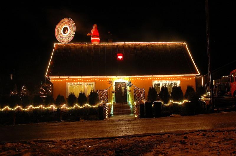Zdjęcie 123 W Aranżacji świąteczne Oświetlenie Domu
