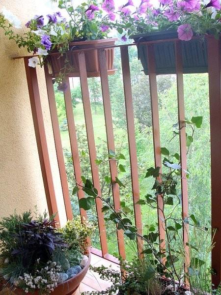Balkon, balkon w miniaturce :)