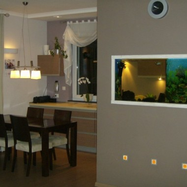 mój kuchnio-jadalnio-salon