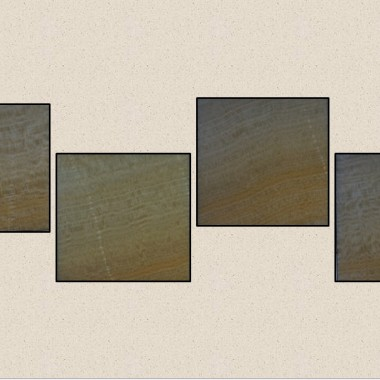 Aranżacja z 4 szt. Kinkietów o powierzchni z naturalnego transparentnego onyksu podświetlana diodami LED sterowana PILOTEM z 20 programami kolorystycznymi ,19 kolorów ,5 stopni regilacji jasności i prędkości