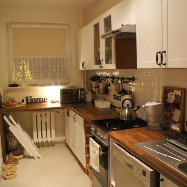 Kuchnia moja biała