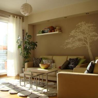 Tak wygląda pokój obecnie - widok od strony kuchni