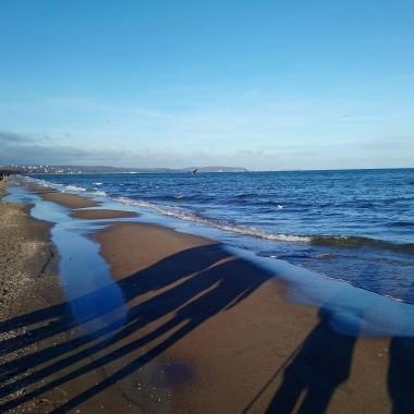 ..............spacer nad morzem w święta obowiązkowy..........