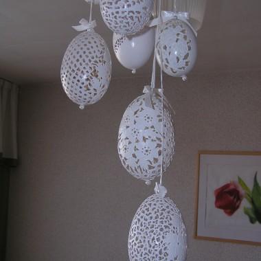 Ażurki, pisanki ,ażurowe jajka od justyny