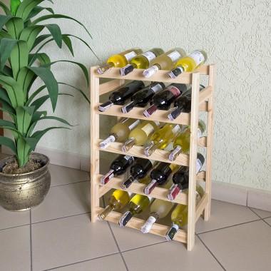 Stojak na wino Prosbud24 drewniany