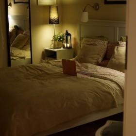 Sypialnia wieczorową porą