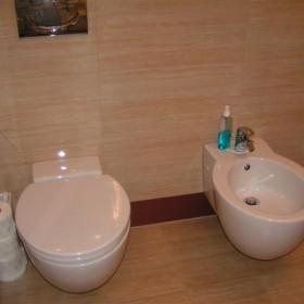 łazienka z sypialnią