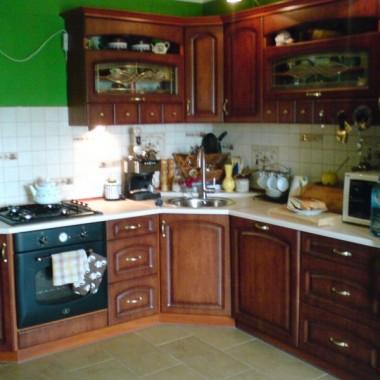 moja (w dalszym ciągu nie dokończona) kuchnia..