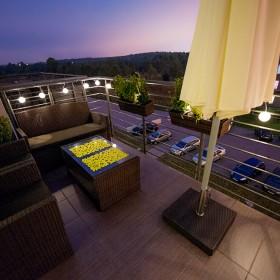 Balkon nocą :)