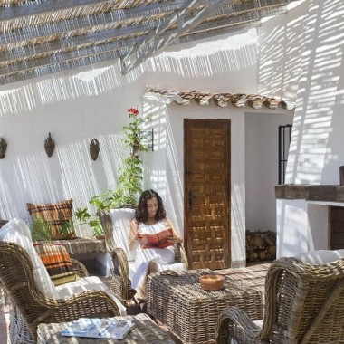 Romantyczny dom w Hiszpanii
