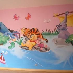 Malowidła dla dzieci,artystyczne malunki DEKORACYJNE na ścianach