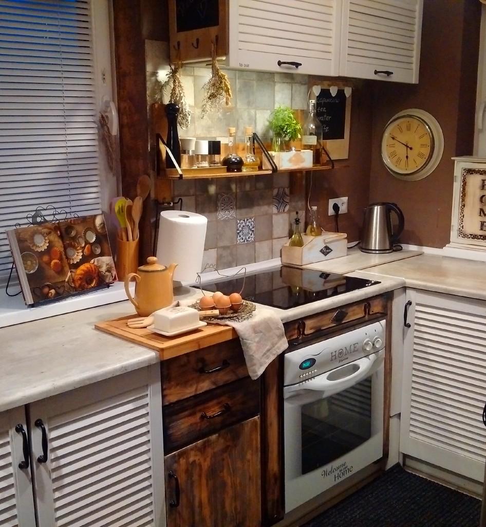 Pozostałe, Kuchnia - Fronty i obudowa piekarnika mojego autorstwa