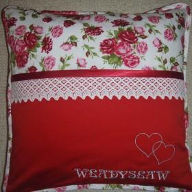 Poduszki dekoracyjne z wyhaftowanym imieniem...