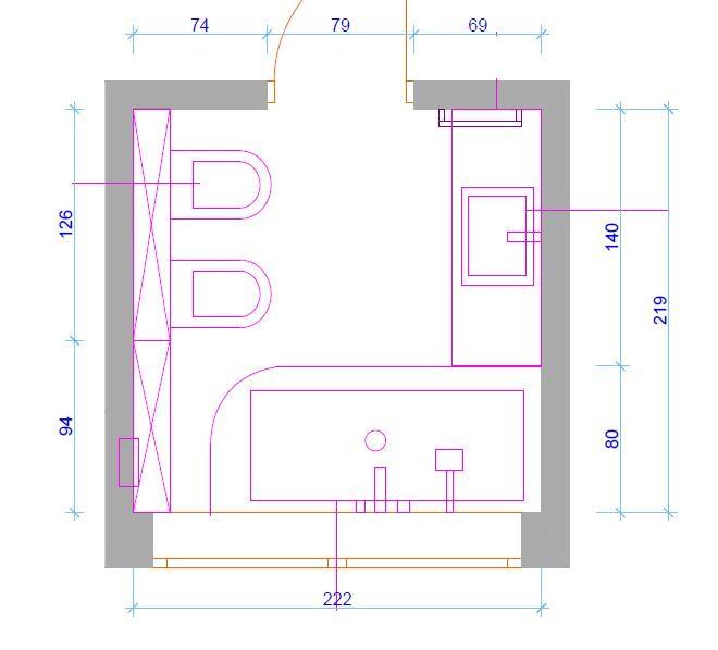 Zdjęcie 1010 W Aranżacji Projekt łazienki Deccoriapl