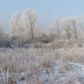piękna, mroźna zima...