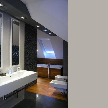 łazienka z TV - tychy - projekt - realizacja