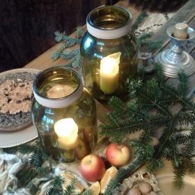 Coraz bliżej święta. ..dekoracje