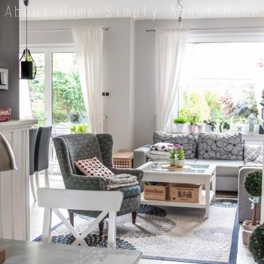 Uwielbiam nasz domek, tu czuję się mega przytulnie i wyjątkowo. To nasz dom, słodki dom :) Dawno nie pokazywałam co się u nas zmieniło, zatem zapraszam do zbiorczej galerii&#x3B;) Więcej na moim blogu: http://simplyhomeabout.blogspot.com/