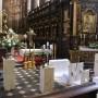 Pozostałe, Dekoracje ślubne - Dekoracja kościoła. Bazylika Bożego Ciała na Kazimierzu w Krakowie