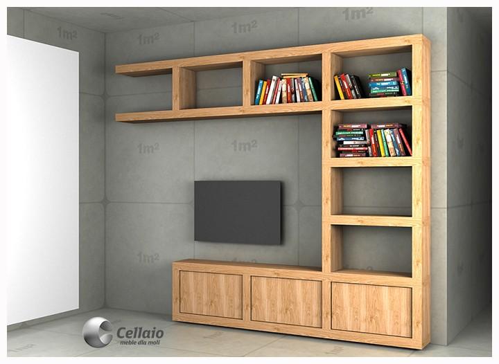 Ściany, Ścianka telewizyjna Cellaio