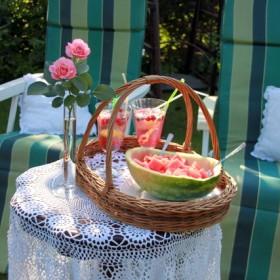 magnoliowy ogród różany.....