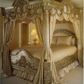 królewskie inspiracje sypialniane &#x3B;)