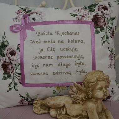 Poduszka na dzień babci :)