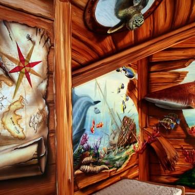 Podwodny świat w pokoju dziecka