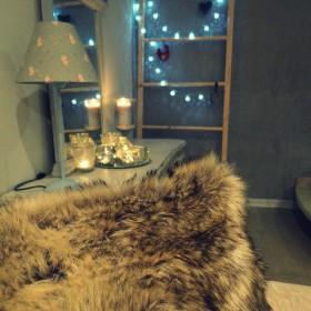 Jesienny wieczór w moim salonie
