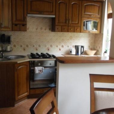 Moja mała kuchnia z jadalnią-)