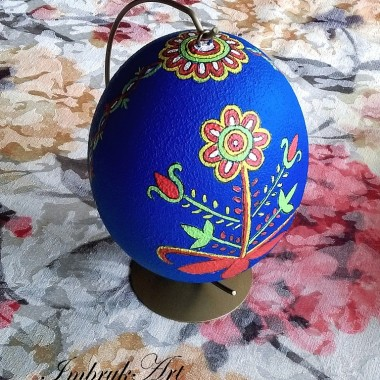 Wydmuszka strusiego jaja