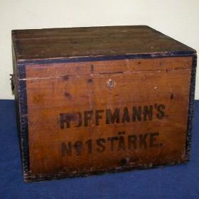 stara skrzynia kufer po ryżu hoffmann's reis
