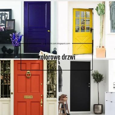 dla fanów kolorowych drzwi :)