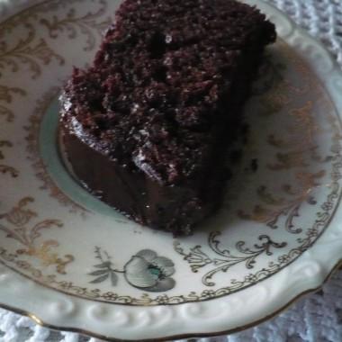 ..............i ciasto czekoladowe z wiśniami..............