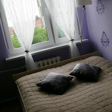 Sypialnia wersja mini - fioletowa
