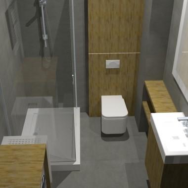 łazienka i kuchnia - styl nowoczesny