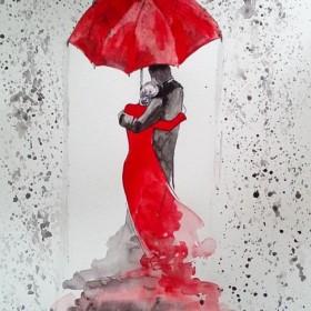 Akwarele artystki plastyka Adriany Laube