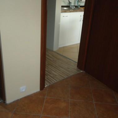 Pomieszczenia gdzie mają być białe listwy