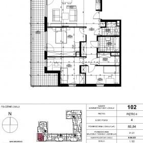 Moje mieszkanie na papierze :)
