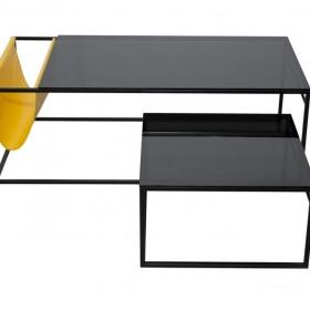 nowoczesny, minimalistyczny stolik kawowy POCKET