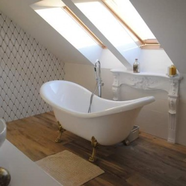 Łazienka w stylu Ludwika