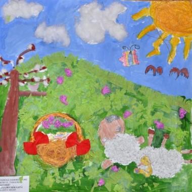 Malowidła mojej sześciolatki
