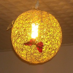 EKOpozytywnie! - Lampa ze sznurka