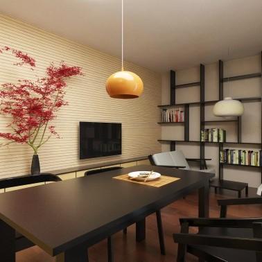 Salon w stylu japońskim