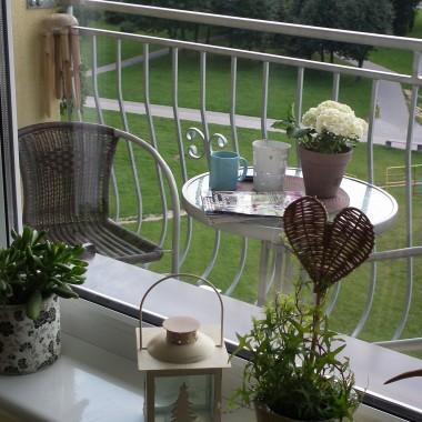 Balkon i pokój