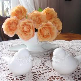 Jesienne róże.