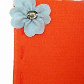 Moc pomarańczy - filcowe pudełka